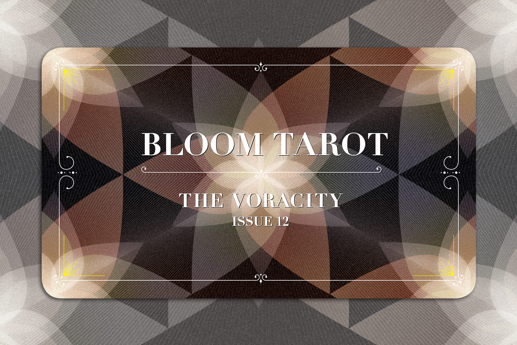 BLOOM TAROT - The Voracity by Anna Williams